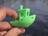 3D打印机测试模型-船模