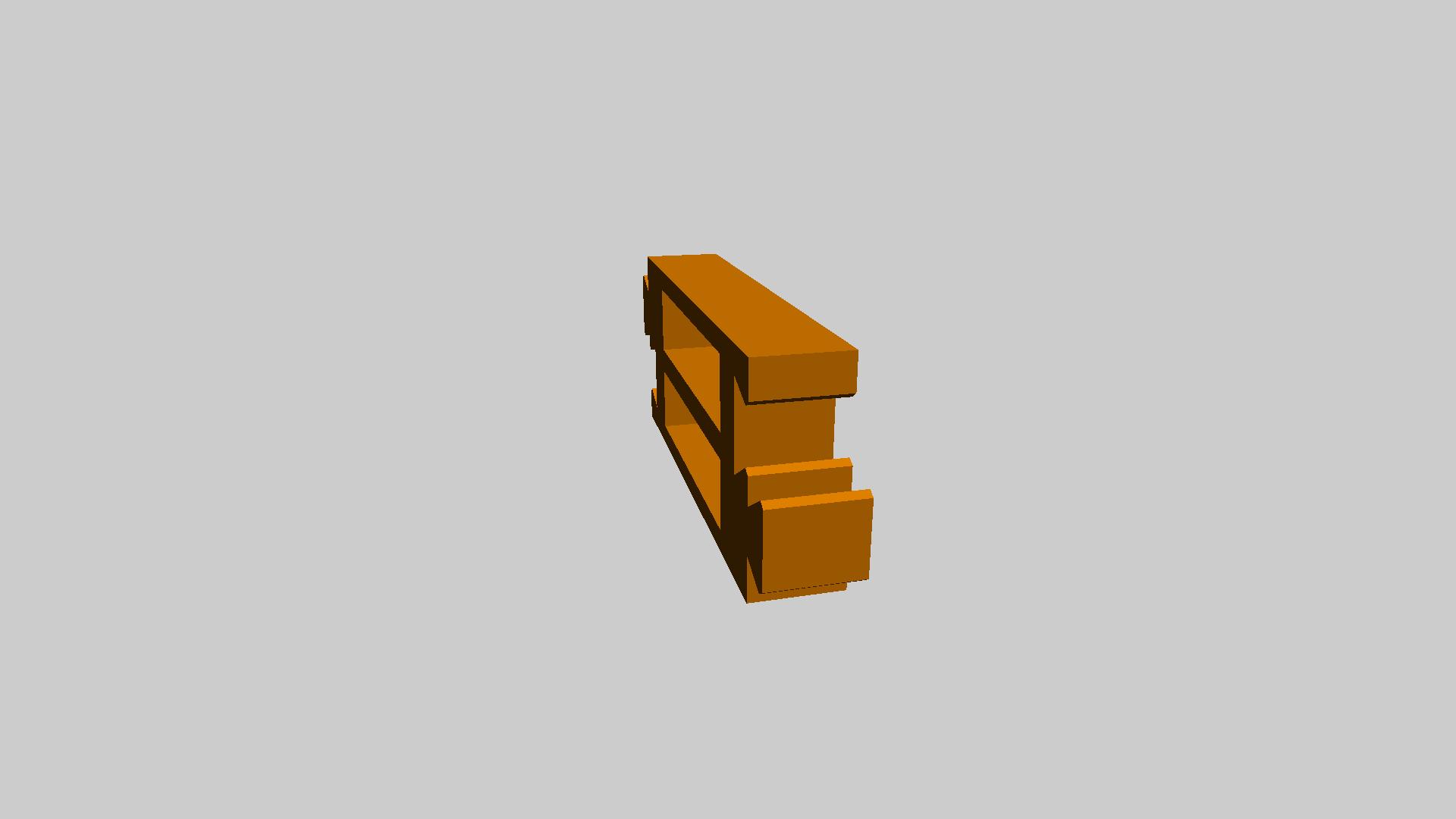 Prusa i3 模块化的温床支架