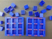 显示盘加密模式和加密密度